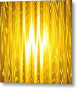 Moveonart Goldenopportunity Metal Print