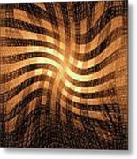 Moveonart Lightcomingthrough Metal Print