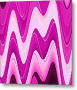 Moveonart Moodwaves Metal Print