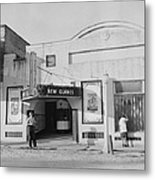 Movie Theatre, The New Glades Theater Metal Print