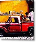 Moving Day Oaxaca Metal Print