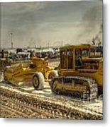 Moving The Earth Metal Print
