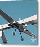 Mq-1 Predator Drone Metal Print
