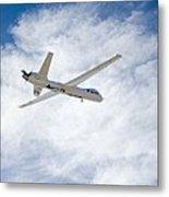 Mq-9 Reaper Spyplane Metal Print by Nasadfrc
