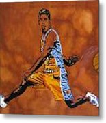 Mr Assist Steve Nash Metal Print