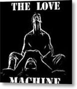 Mr Lover Lover Metal Print