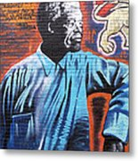 Mr. Nelson Mandela Metal Print