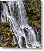 Mt Hood Cascade Metal Print