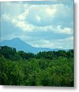 Mt Mansfield From Malletts Bay Metal Print