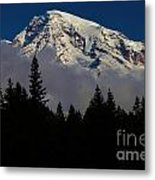 Mt. Rainier Metal Print