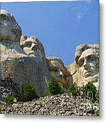Mt Rushmore Metal Print