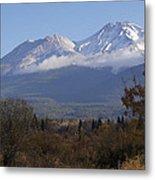 Mt Shasta Autumn II Metal Print