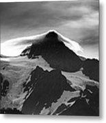 Mt Shuksan Monochrome Metal Print