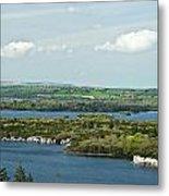 Muckross Lake From Atop Torc Waterfall 2 Metal Print
