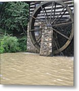 Muddy Water After The Rain Metal Print