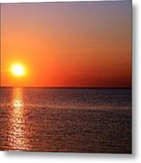 Multi-colored Sunset Metal Print