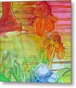 Multicolor Gingers Metal Print