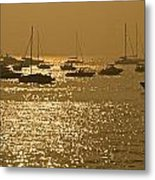 Mumbai In The Morning In December Metal Print