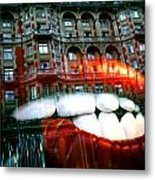munching on Knightsbridge Metal Print