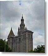 Municipal Building In New York Metal Print