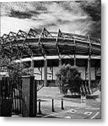 Murrayfield Stadium Edinburgh Rugby Scotland Metal Print by Joe Fox