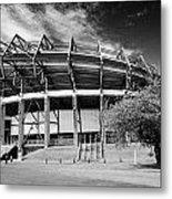 Murrayfield Stadium Edinburgh Scotland Rugby Metal Print