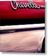 Muscle Bound Chevelle Metal Print