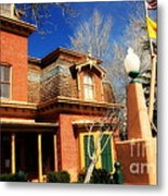 Museum In Silver City Nm Metal Print