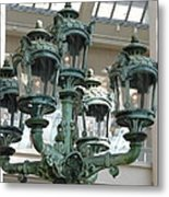 Museum Lights Metal Print