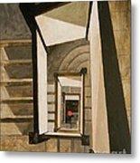Museum Stairs Metal Print