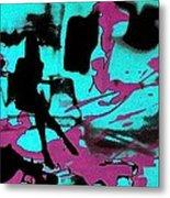 Music - Underground Art Metal Print