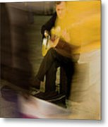 Music In The Flow Of Motion Metal Print