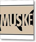 Muskellunge Metal Print