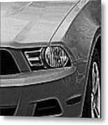Mustang 002 Metal Print