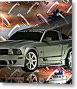 Mustang Saleen  Metal Print