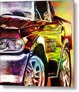 Mustang_2 Metal Print by Whitney Bruneau