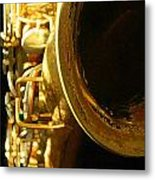 My Bari Sax Metal Print