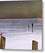 My First Walk On Water Metal Print