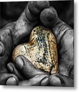 My Hands Your Hard Metal Print by Stelios Kleanthous