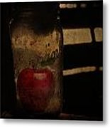 My Hidden Apple  Metal Print