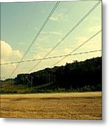 My Love Will Follow Down Any Highway Metal Print