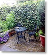 My Patio Metal Print
