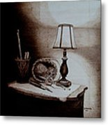 My Quiet Time Metal Print