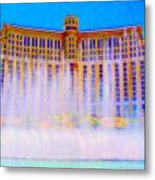 My Vegas Bellagio 2 Metal Print