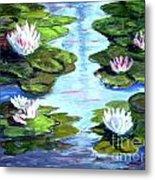 My Waterlilies Metal Print