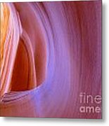 Mysterious Magnificent Antelope Canyon Metal Print