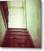 Mysterious Stairway Metal Print