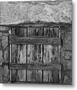 Mystery Door Metal Print