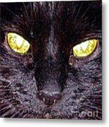 Mystic Eyes Metal Print