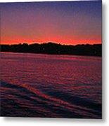 Mystic Sunset Metal Print